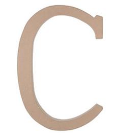 Paper Mache Letter - C - 23.5 inches-