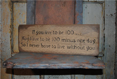 If You Live... Sign-