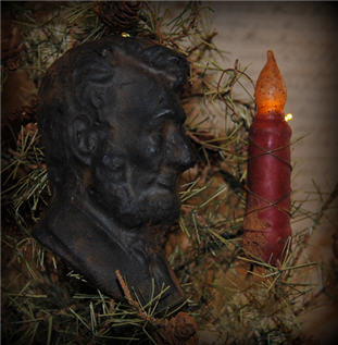 Abraham Lincoln Ornament-abraham, lincoln