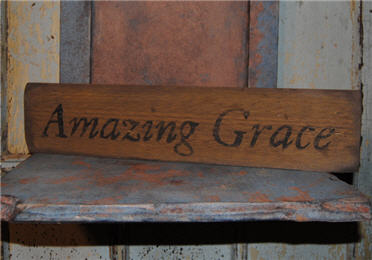 Amazing Grace Sign-
