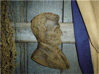 Abraham Lincoln Beeswax Wall Hanger-abraham lincoln