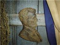 Abraham Lincoln Beeswax Wall Hanger