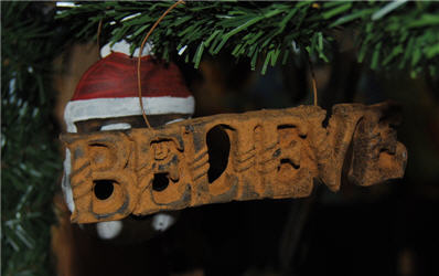 Believe Ornament-