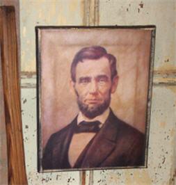 Classic Abraham Lincoln Portrait-