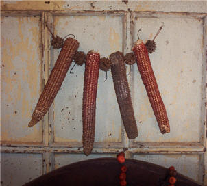 Dried Corn Garland-corn, garland