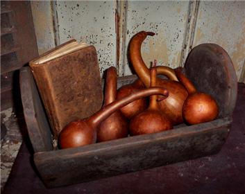 Dipper Gourds - Brick Red