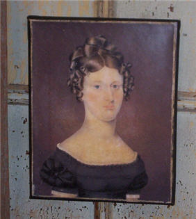 Elizabeth Barrington Knowles Canvas Portrait