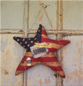 Hanging Flag Star-