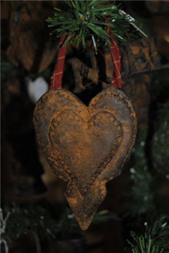 Hanging Heart Ornament-