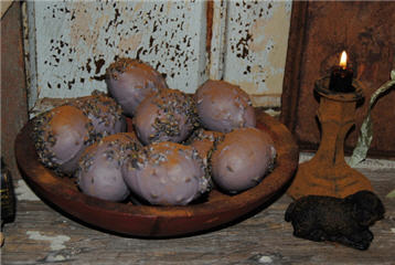 Lavender & Lavender Beeswax Eggs