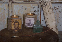Abraham Lincoln Flicker Light