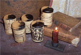 Mercantile Candles - Asst.