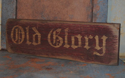 Old Glory Sign-
