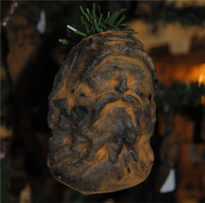 Old World Santa Ornament-