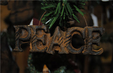 Peace Ornament-