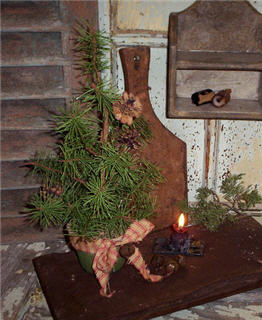Primitive Christmas Tree-