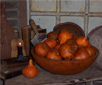 Pumpkin Kiss Gourds --