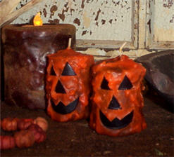Pumpkin Votives-