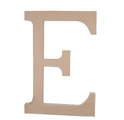 Paper Mache Letter - E - 23.5 inches-