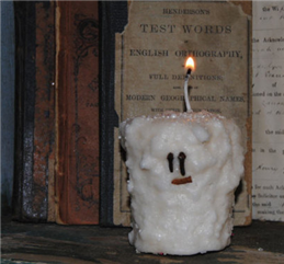 Snowman Votive Candles-