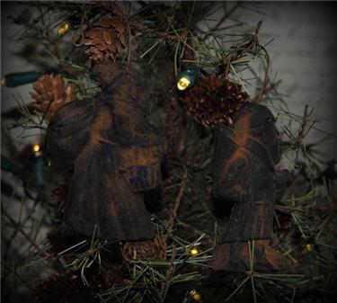 Springerle Mold Santas
