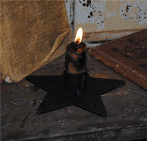Single Star Candle Holder-