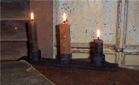 Triple Candle Holder-