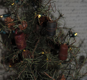 Wired Nubby Ornaments-