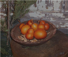 Pear Gourds - Amber - Asst. Sizes